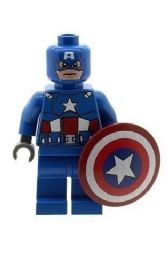 Captain America & Shield Version 1 - Custom Designed Minifigure